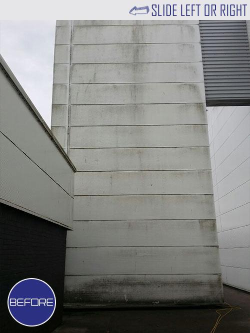 External Building Cleaning – Façade & Cladding